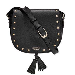 NWT Victoria's Secret Black Crossbody bag NEW